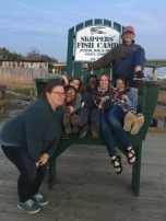 GSU Students at Skippers' Fish Camp