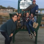 GSU Students at Skippers' Fish Camp